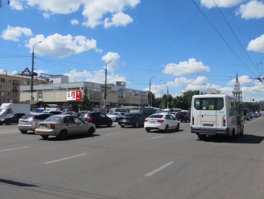 Реклама экран 20-летия Октября 119а - ул Краснознаменная, ТК 1000 мелочей, место №4
